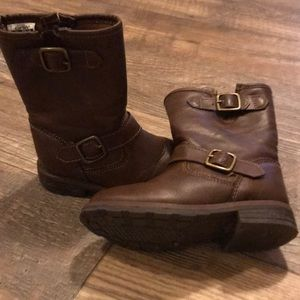 Toddlers girl brown boots